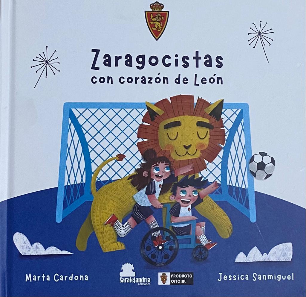 Zaragocistas con corazón de León